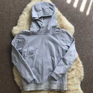 Hooded lululemon sweatshirt